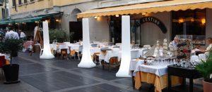Tottem Light luz ambiente para terrazas de bar y restaurante