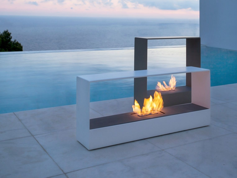 Piscinas espectaculares con fuego