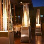 Estufas para terrazas de bar